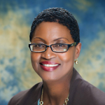 headshot of female educational foundation member Susan James